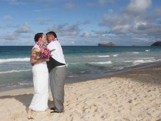 Sweet Hawaii Wedding 7