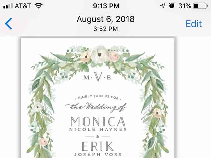 Elli - Invitations - Portland, OR - WeddingWire