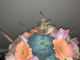 A Man and A Woman Floral Design 3