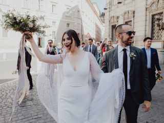 Salt'n'pepper wedding portrait 6