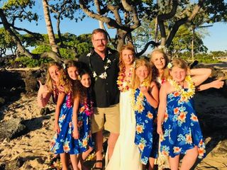 Simple Kona Beach Weddings 4