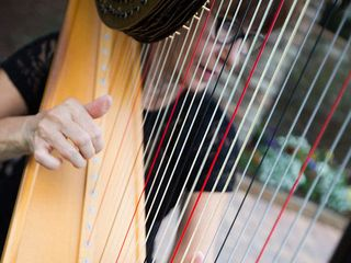 Harpist Catherine Way ~ HarpStrings Inc 2