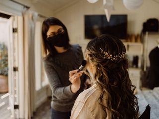 Blush Hair and Makeup Design 2