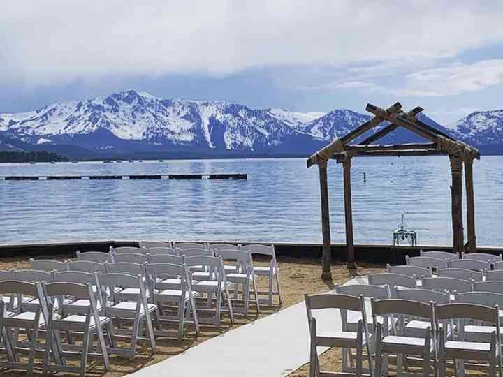 Weddings At Lakeside Beach Venue South Lake Tahoe Ca Weddingwire
