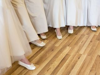 Cinderollies | Bridal Party Ballet Flats 1