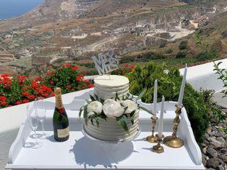 Weddings & Whimsy - Santorini, Greece 1
