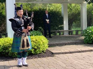 Kim Johnson Michigan Bagpiper 1