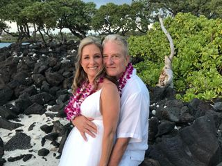 Simple Kona Beach Weddings 6
