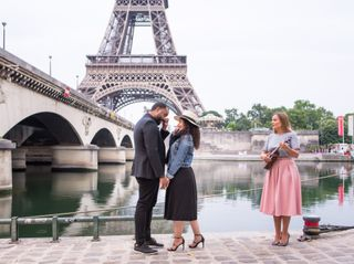 Proposal & Elopement in Paris 2