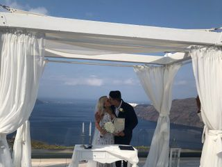 Santorini My Wedding 1