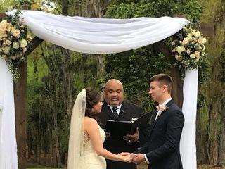 James Hamp, Wedding Officiant 4