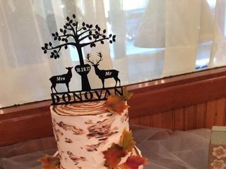 A Beautiful Maine Wedding Cake All Occasion Cakes 2