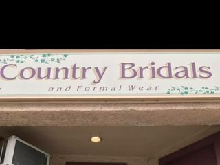 Country Bridals and Formal Wear 1