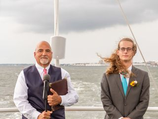 Michael Peter, SC Wedding officiant/notary 4