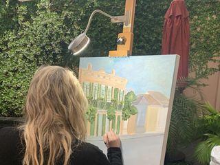 Nola Live Painting by Kristen Schenck 1