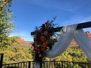 Sedona Mountain High Flowers 5