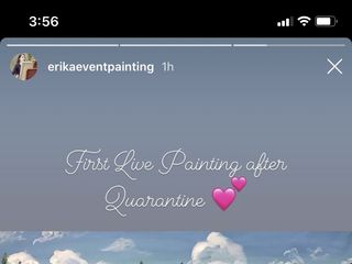 Erika Event Painting 5