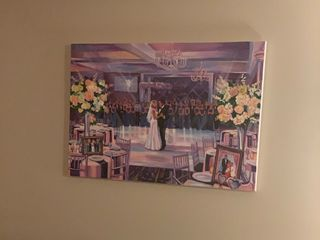 Live Wedding Painting by Mark 3