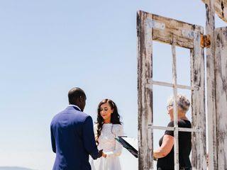 Cheryl Bariel Officiant, Bella Wedding Day 3