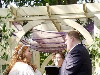 Katherine Albrecht, Wedding Officiant 1