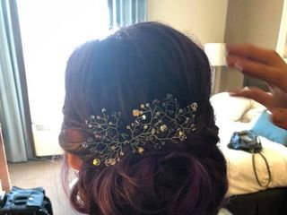 Tangled & Teased Hair and Makeup 1