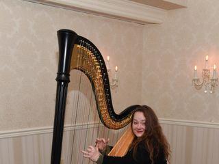 Harpist Katharine Saxton 1