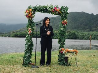 Hawaiian Wedding Officiant 1
