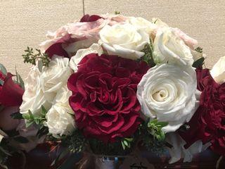 White Magnolia Floral Design 1