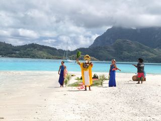 Wedding Bora Bora 1