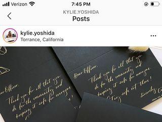 Kylie Yoshida Calligraphy 5