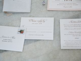 Paper Rose Invitation & Design 3