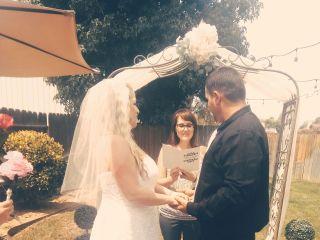 Rev. Kindra, Wedding Officiant 4
