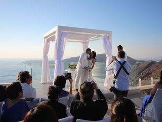 LovWed in Santorini 2