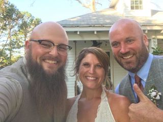 Will Poole, Wedding Officiant 2