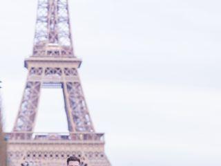 Proposal & Elopement in Paris 1