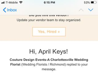 Couture Design Events-A Charlottesville Wedding Florist 1
