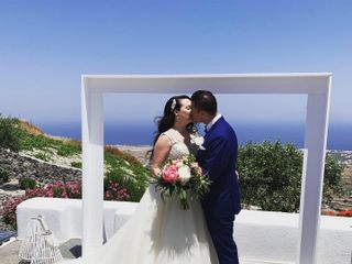 Weddings & Whimsy - Santorini, Greece 2