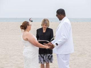 Seaside Beach Wedding San Diego 2