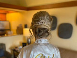 Bridal Hair by Kelsey 2