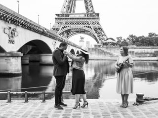 Proposal & Elopement in Paris 3
