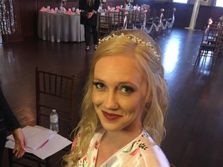 Professional Elegance On-Location Wedding Hair and M.A.C. Make-Up/ Airbrush Application 4