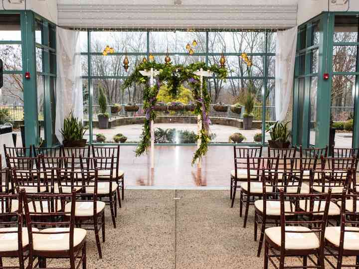The Atrium At Meadowlark Botanical Gardens Venue Vienna Va