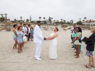 Seaside Beach Wedding San Diego 7