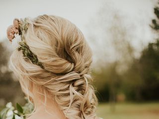 Megan Pirrocco Bridal Hair 1