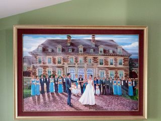 Live Wedding Painting by Mark 5