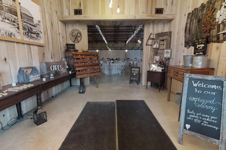 The Barn at Timber Ridge 3d tour