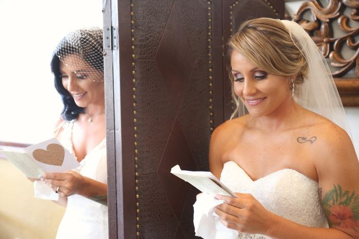 Wedding Superstitions - Not seeing each other before the wedding 1
