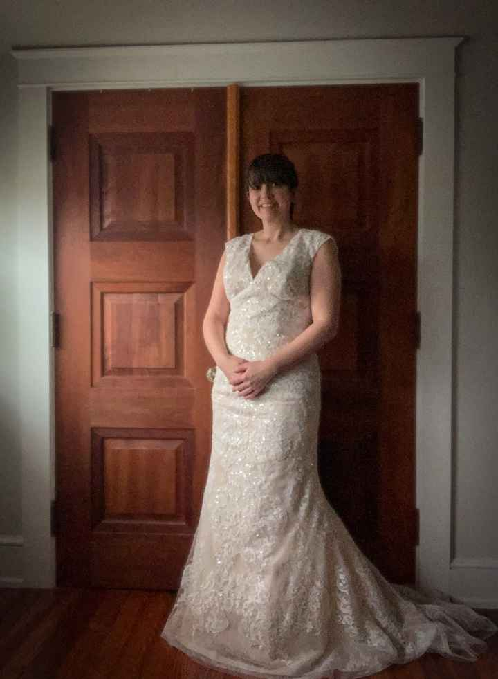 Happy things - Show me your micro wedding/elopement dresses! 5