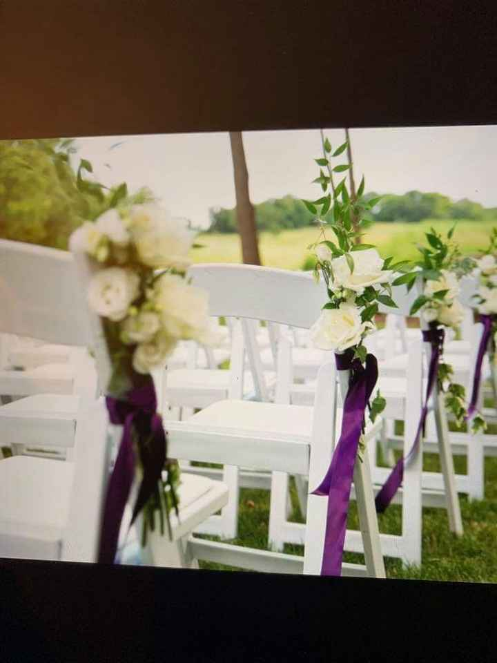 Aisle decorations suggestions? - 1