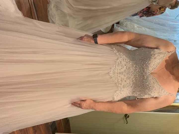 Let's See those Blush Wedding Dresses! - 1